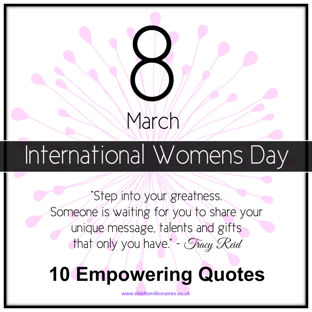 10 empowering quotes for women tracy j reid lifestyle